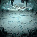 lodowe tło